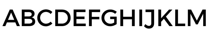 Argentum Sans Font UPPERCASE