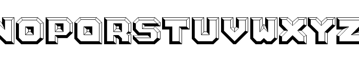 Argentum White Font UPPERCASE
