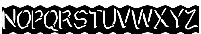 Arggh @$*#  Lite Font UPPERCASE