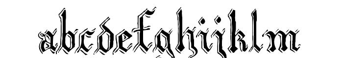 Argor Biw Scaqh Font LOWERCASE
