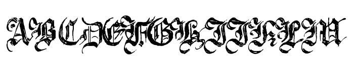 Argor Brujsh Scaqh Font UPPERCASE