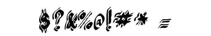 Argor Flahm Scaqh Font OTHER CHARS