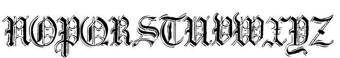 Argor Flahm Scaqh Font UPPERCASE
