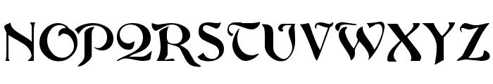 ArgosGeorge Font UPPERCASE