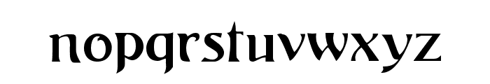 ArgosGeorge Font LOWERCASE