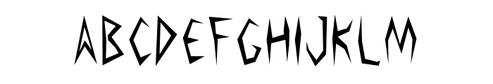 Argosy the Second Font LOWERCASE