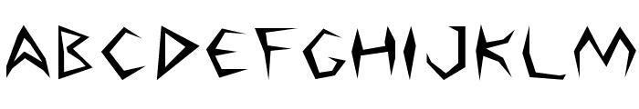 Argosy Font UPPERCASE