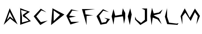 Argosy Font LOWERCASE