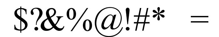 ArhaicRegular Font OTHER CHARS