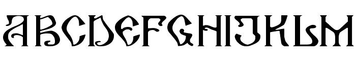 ArhaicRegular Font UPPERCASE