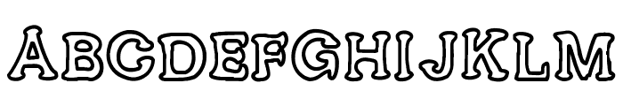 Ariendesse Font UPPERCASE