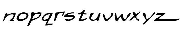 Arilon Expanded Italic Font LOWERCASE