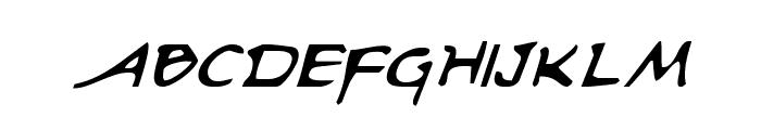 Arilon Italic Font UPPERCASE