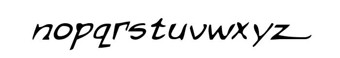 Arilon Italic Font LOWERCASE