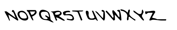 Arilon Leftalic Font UPPERCASE