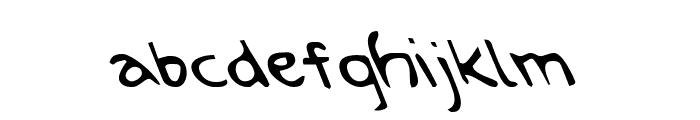 Arilon Leftalic Font LOWERCASE