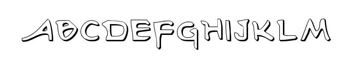 Arilon Shadow Font UPPERCASE