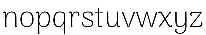 Arima Madurai ExtraLight Font LOWERCASE