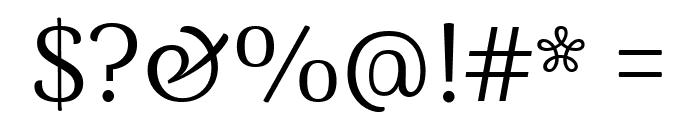 Arima Madurai Regular Font OTHER CHARS