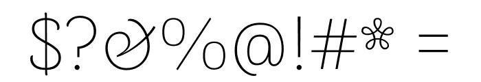 Arima Madurai Thin Font OTHER CHARS