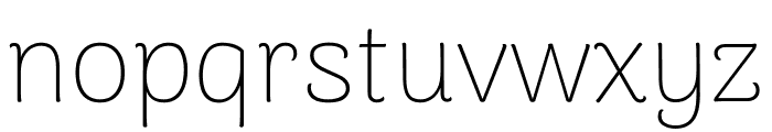 Arima Madurai Thin Font LOWERCASE