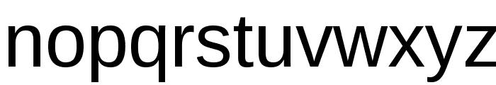 Arimo Font LOWERCASE