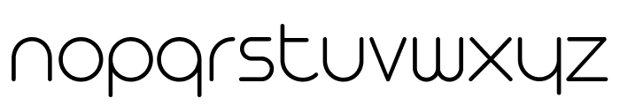 Arista Pro Trial ExtraLight Font LOWERCASE