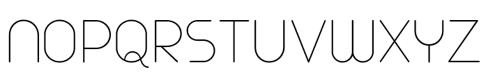 Arista Pro Trial Thin Font UPPERCASE