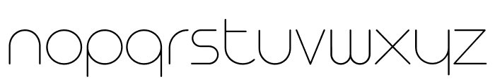 Arista Pro Trial Thin Font LOWERCASE
