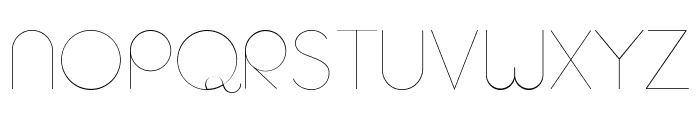 AristaProAlternate-UltraLight Font UPPERCASE