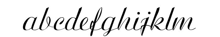 Ariston Normal Font LOWERCASE