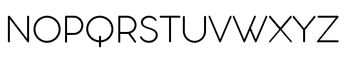 Aristotelica Display Trial ExLt Font UPPERCASE