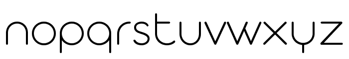 Aristotelica Display Trial ExtraLight Font LOWERCASE