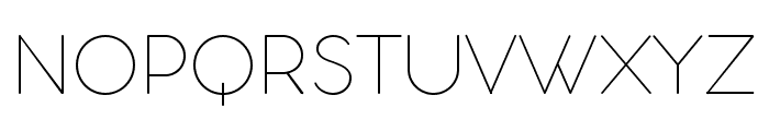 Aristotelica Display Trial Thin Font UPPERCASE