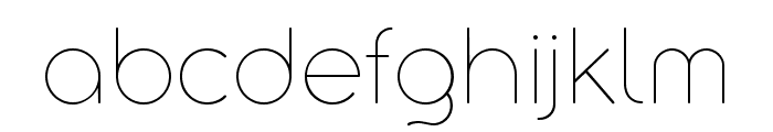 Aristotelica Display Trial Thin Font LOWERCASE