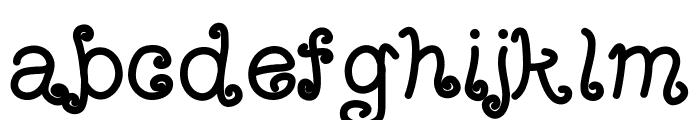 ArizonaTumbleweedBold Font LOWERCASE