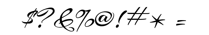 Arizonia Regular Font OTHER CHARS