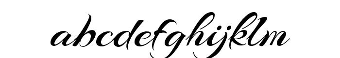 Arizonia Regular Font LOWERCASE