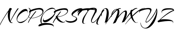 Arizonia Font UPPERCASE