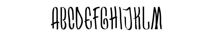 Arkara Font UPPERCASE