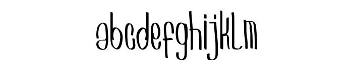 Arkara Font LOWERCASE