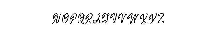 Armand_chief Font UPPERCASE