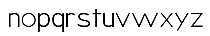 Armata Hairline Font LOWERCASE