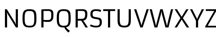 Armata-Regular Font UPPERCASE
