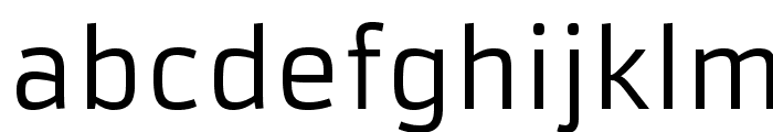Armata-Regular Font LOWERCASE