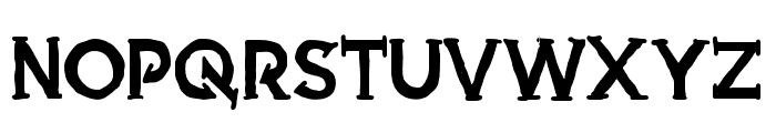 Armed Font UPPERCASE