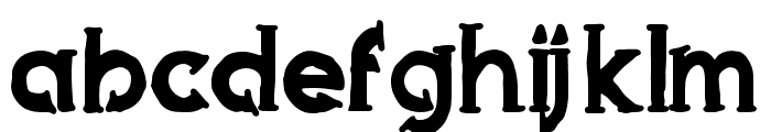 Armed Font LOWERCASE