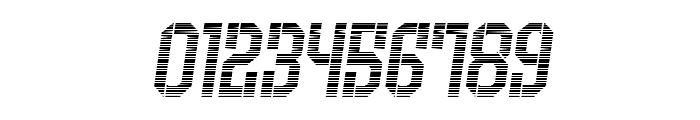 Armenia Gradient Italic Font OTHER CHARS