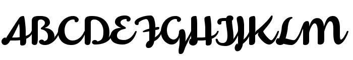 Armonioso Font UPPERCASE