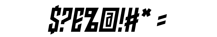 Armor Piercing 2.0 BB Italic Font OTHER CHARS